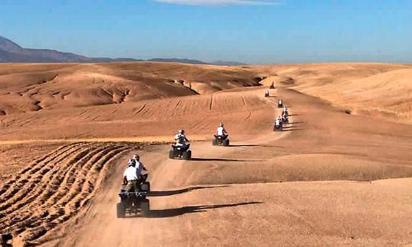 Quad Biking Agafay Desert From Marrakech